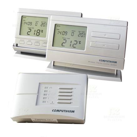 Многозонов безжичен,програмируем стаен термостат Computerm Q8RF